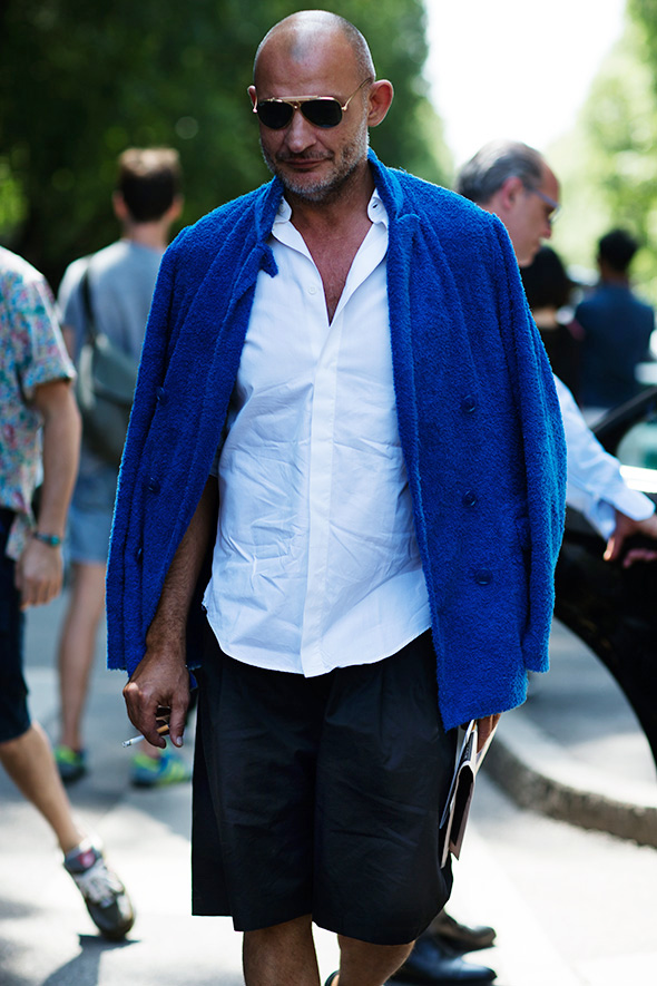 On The Street Terrycloth Sportcoat Milan 171 The