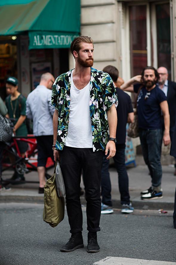 Floral T Shirt Mens