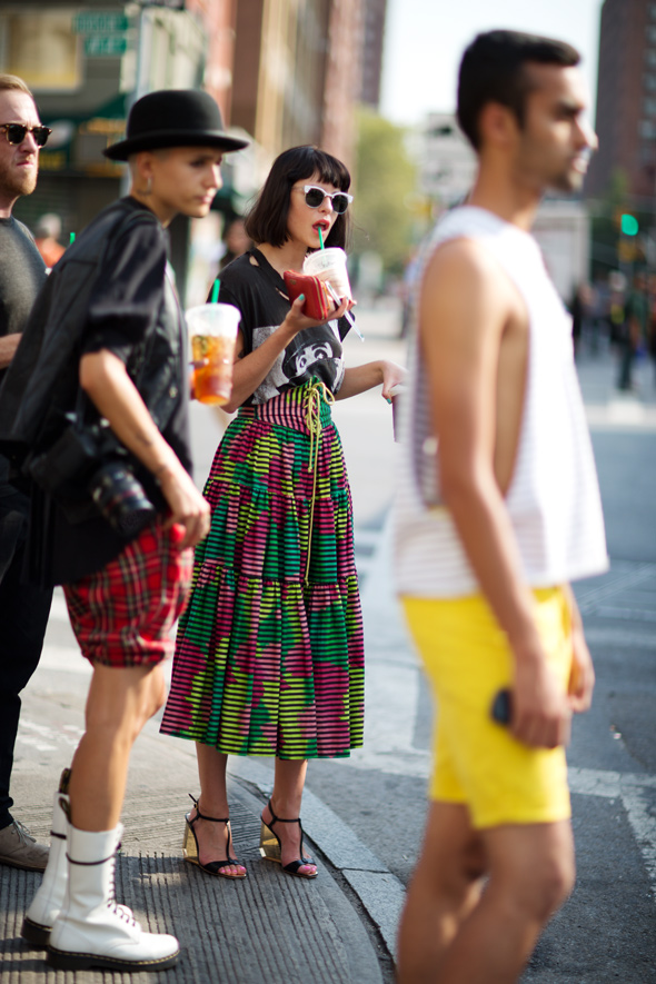 On the Street…. 14th St., New York