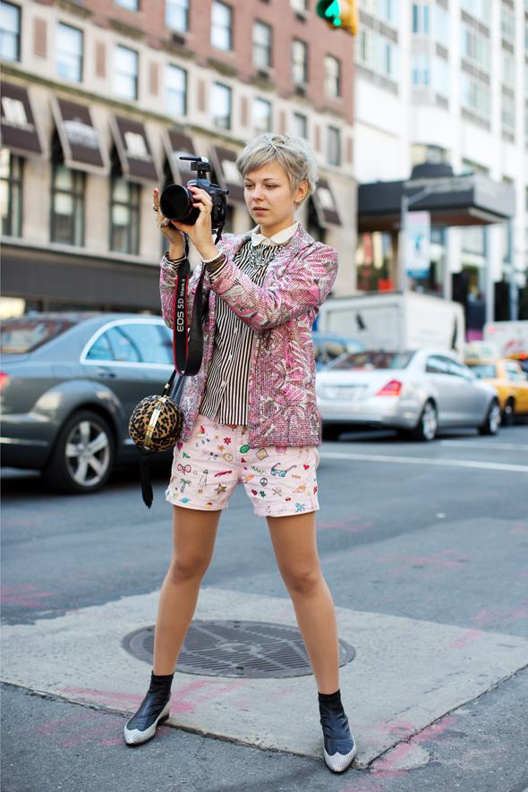 On the Street……Lina, New York