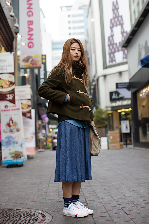 On the Street……Myeungdong, South Korea « The Sartorialist