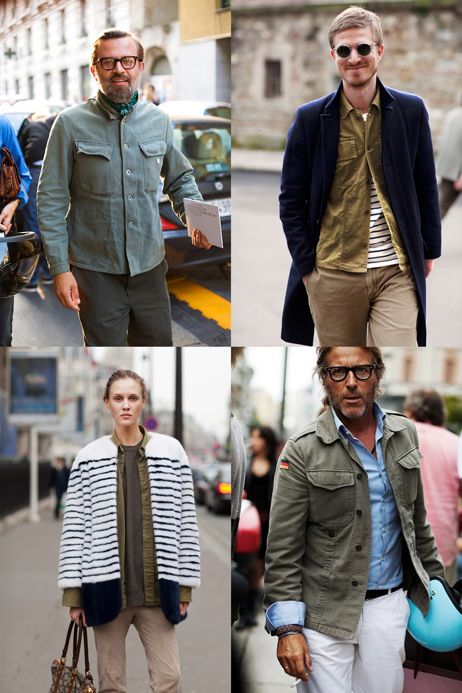 If You Re Thinking About Military Shirts 171 The Sartorialist
