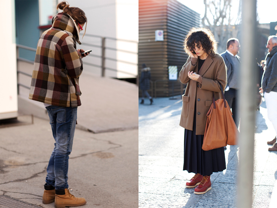 If You're Thinking About….. Work Boots for Women « The Sartorialist