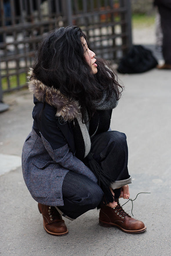 On the Street…Women in Work Boots, Florence « The Sartorialist