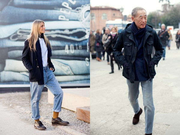 If You're Thinking About…. Creased Denim
