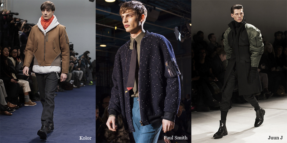 Runway Trend….. Modern Flight Jackets « The Sartorialist