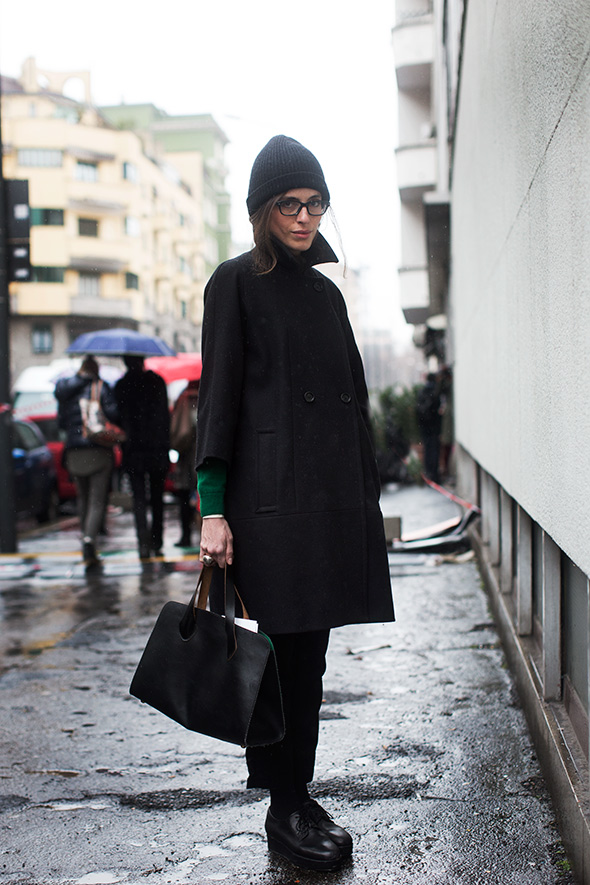 On the Street…. via Alserio, Milan