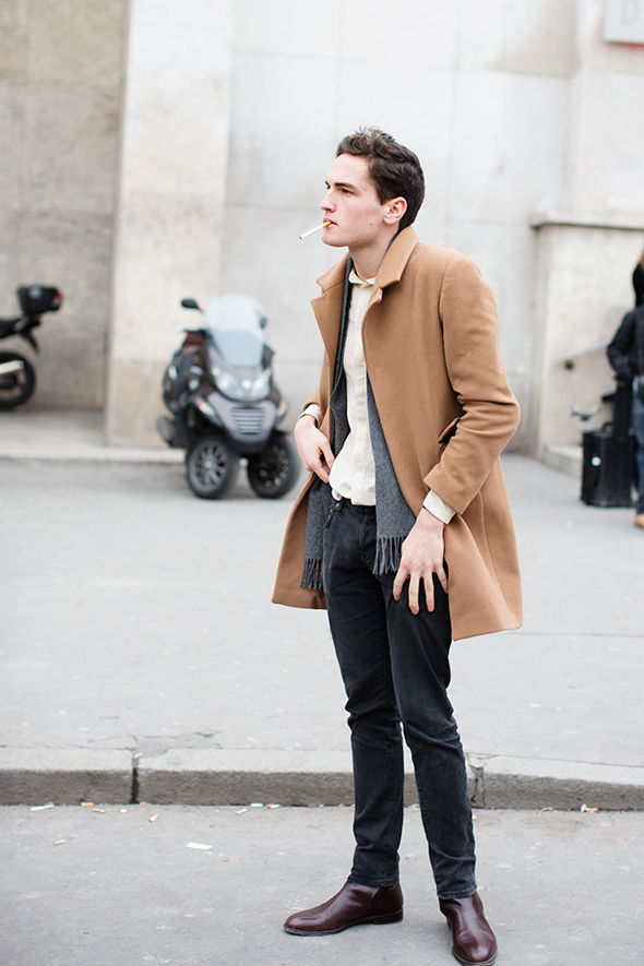 On The Street Camel Coats Paris Amp Florence 171 The
