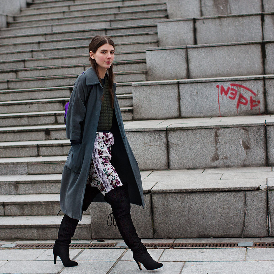 If You&39re Thinking About…. Thigh High Boots « The Sartorialist