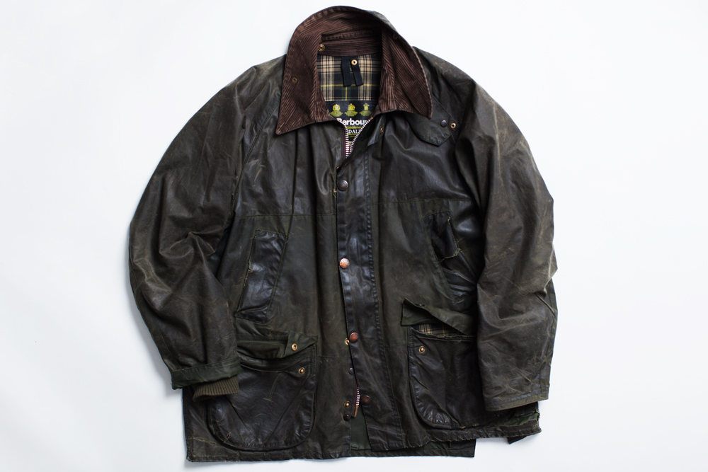 Barbour jacka dam navy