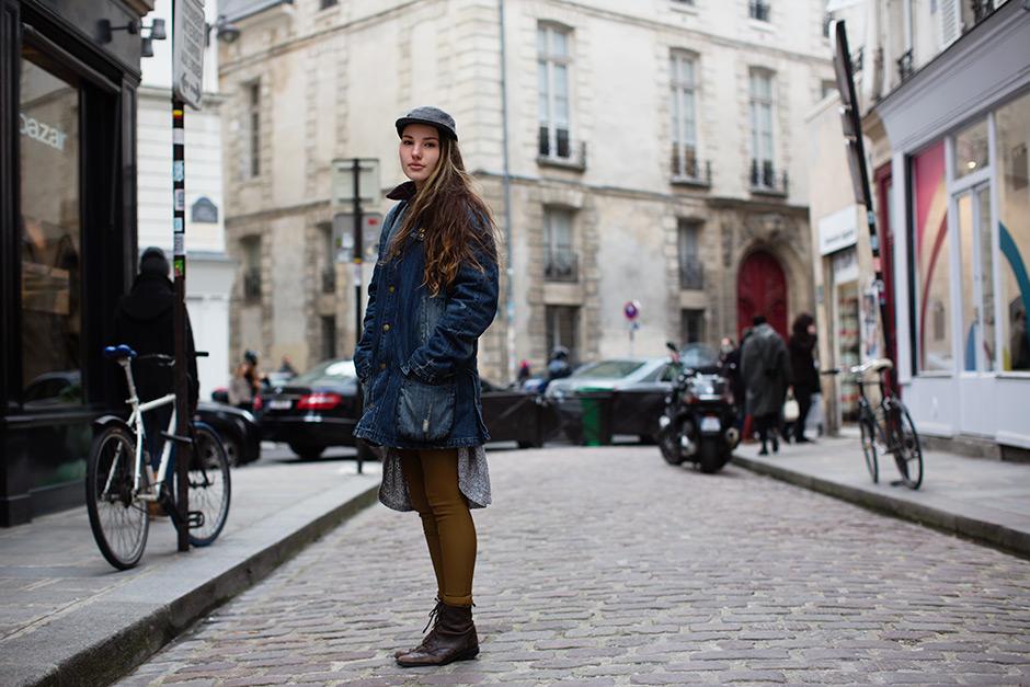 On the Street…… Rue Vieille du Temple, Paris
