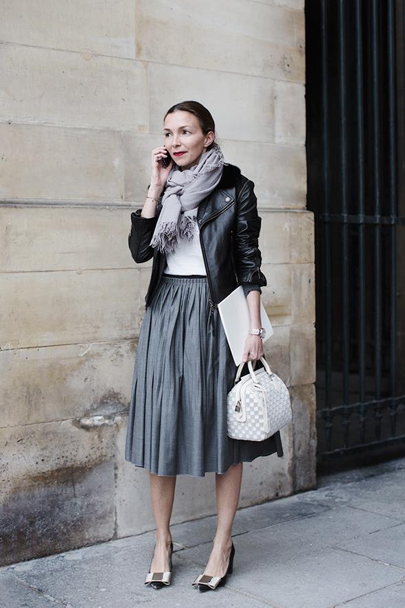 The Three Coolest Ladies At Louis Vuitton Paris The Sartorialist