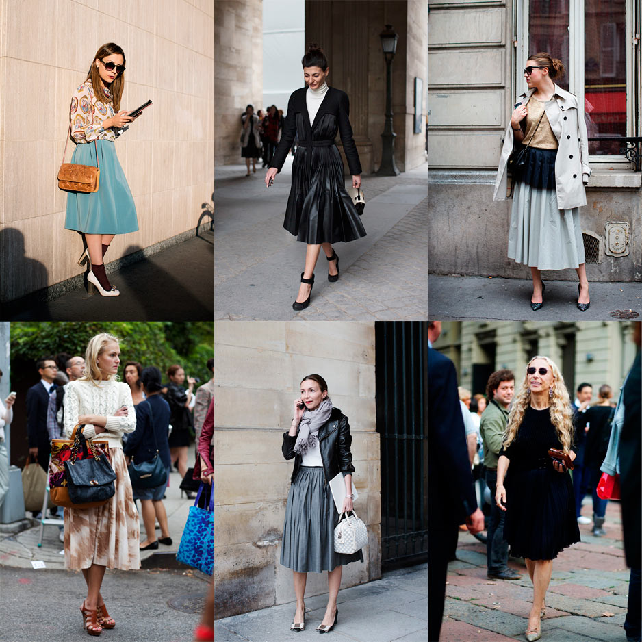 If You're Thinking About…. Below the Knee A-Line Skirts « The ...
