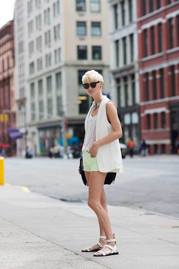 On the Street…..Lafayette St., New York