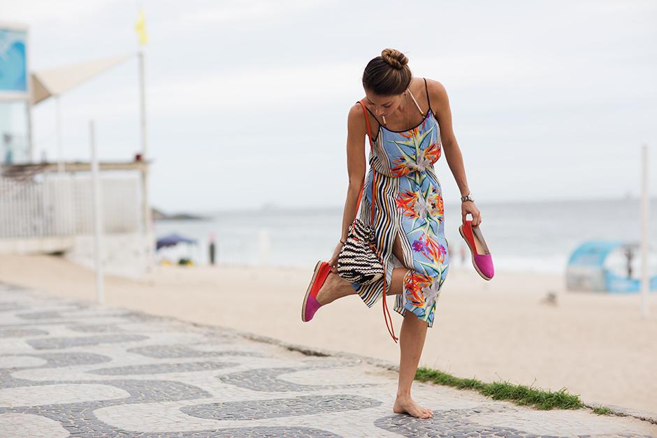 On the Street……Ipanema Beach, Rio de Janeiro