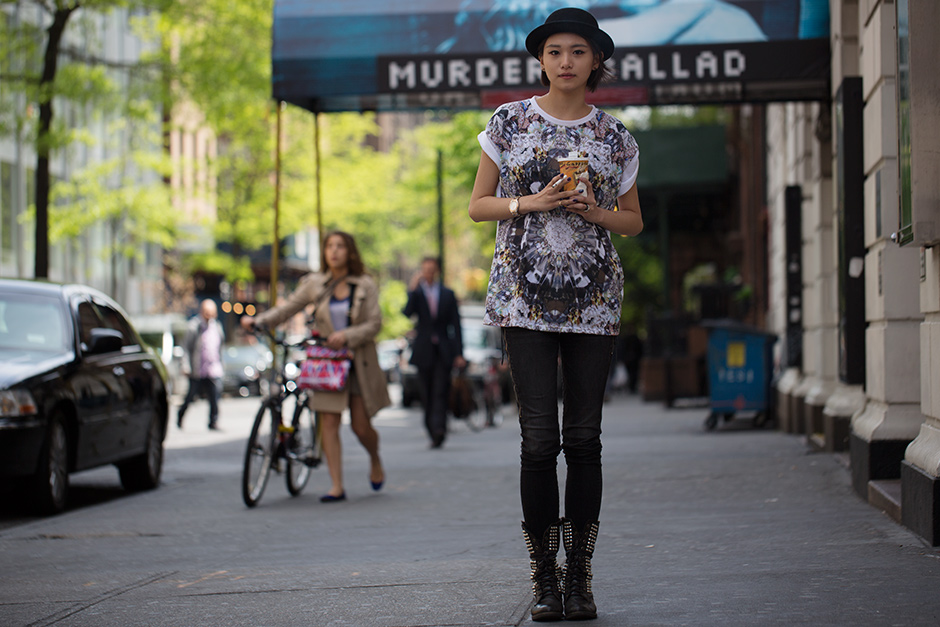 On the Street….East 17th St., New York