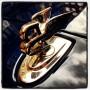 Super cool Bentley mascot