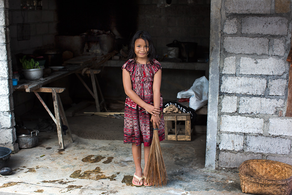 On the Street…..Young Girl in Her Open Kitchen, Bali « The ...