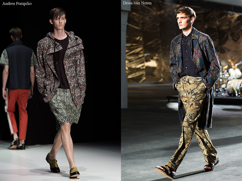 Men's Spring/Summer 2014 Trend Report…..Full-On Floral