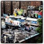 Graffiti rooftop, New York