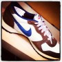 """Nike Vengeance Vintage. Love the super shaped sole. @garancedore would say they """"make a good foot"""""""