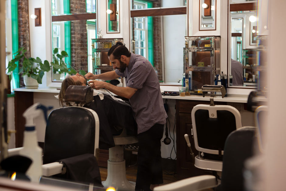 Barber Shop Hours : ... is more important?the barber shop or the barber? ? The Sartorialist