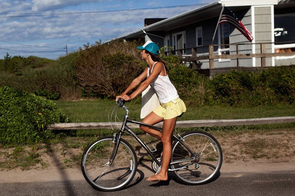 On the Street…..Ditch Plains Rd., Montauk