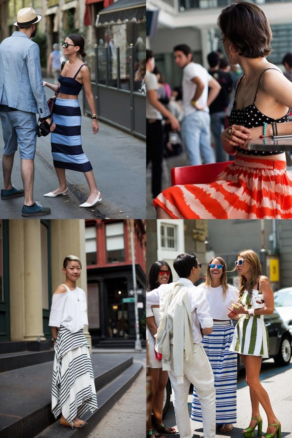 If You're Thinking About….Striped Skirts