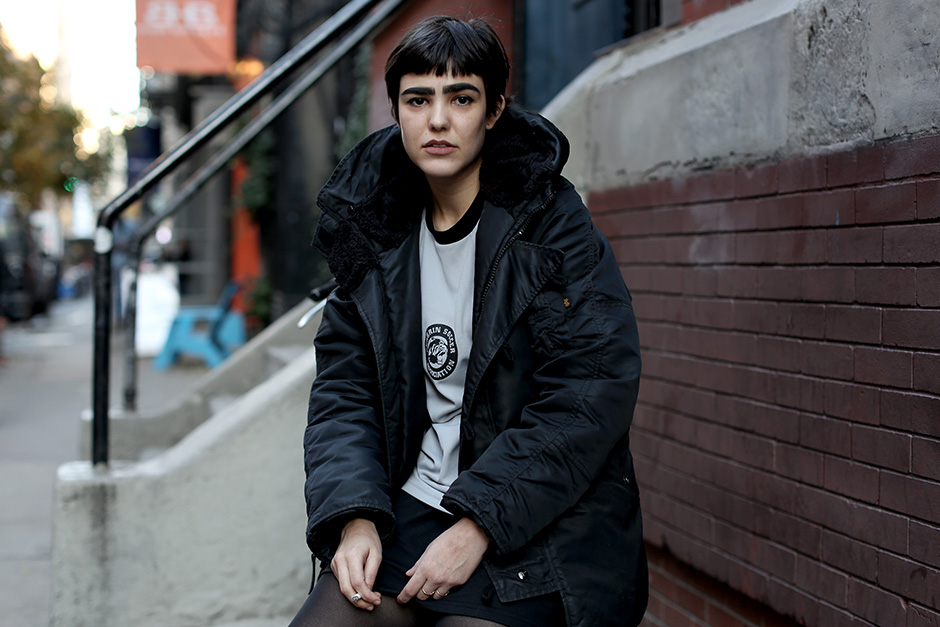 On The Street…. Crosby St., New York