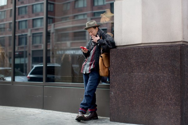 On The Street….. 25th, St., New York