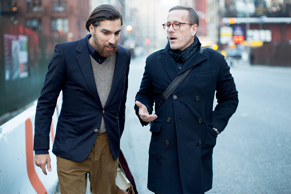 The Virtues Of A Slim Sleeved Coat The Sartorialist