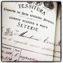 Receipts use to look so cool in 20th century Italy