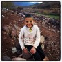 Little boy in the High Atlas Mountains of Morocco