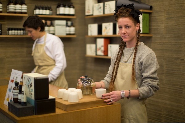 On The Scene…Aesop, Bleecker St., New York