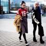 So chic after the Louis Vuitton men's fashion show, Paris