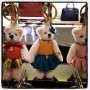 "I love when ""intellectual fashion"" brands like @prada show their playful side ie. these teddybear keychain"
