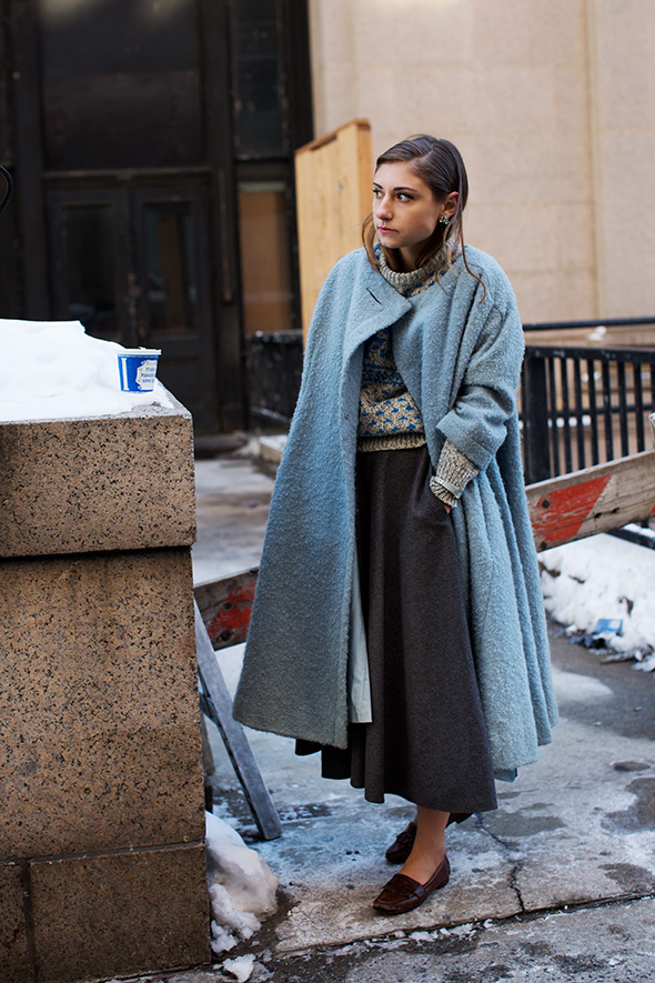 On the Street…West 33rd St., New York