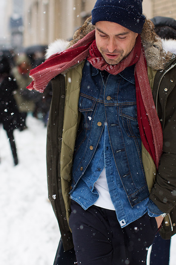 At Ralph Lauren This Snowy Morning 171 The Sartorialist