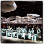 Cloud set at @marcjacobsintl fashion show, New York