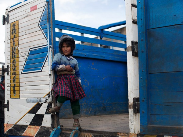 On the Street…….Back of the Truck, Peru