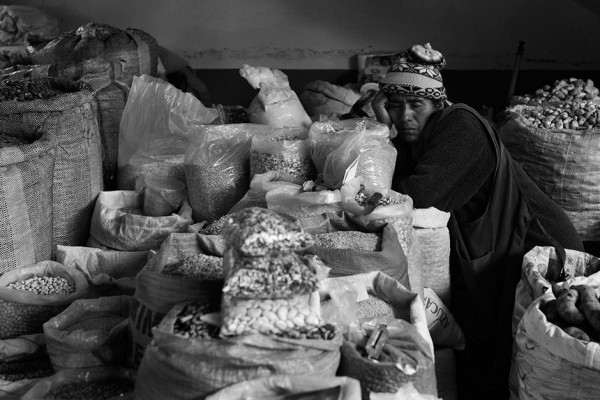 On the Street…..Inside the Market of Urubamba, Peru