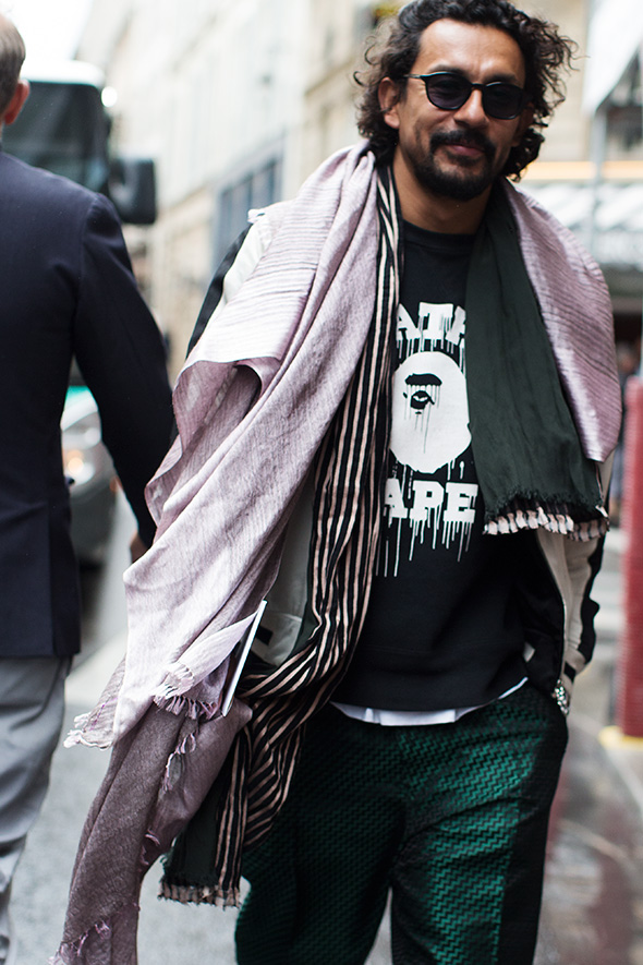 On the Street…Haider Ackermann, Paris