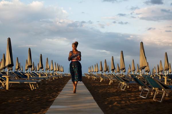 Aperitivo Before Dinner at Rimini Grand Hotel, Rimini