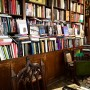 I love book shops in Paris, overflowing with old books and even older chairs and not a spot to rest your eyes before you see another title that you have to inspect.