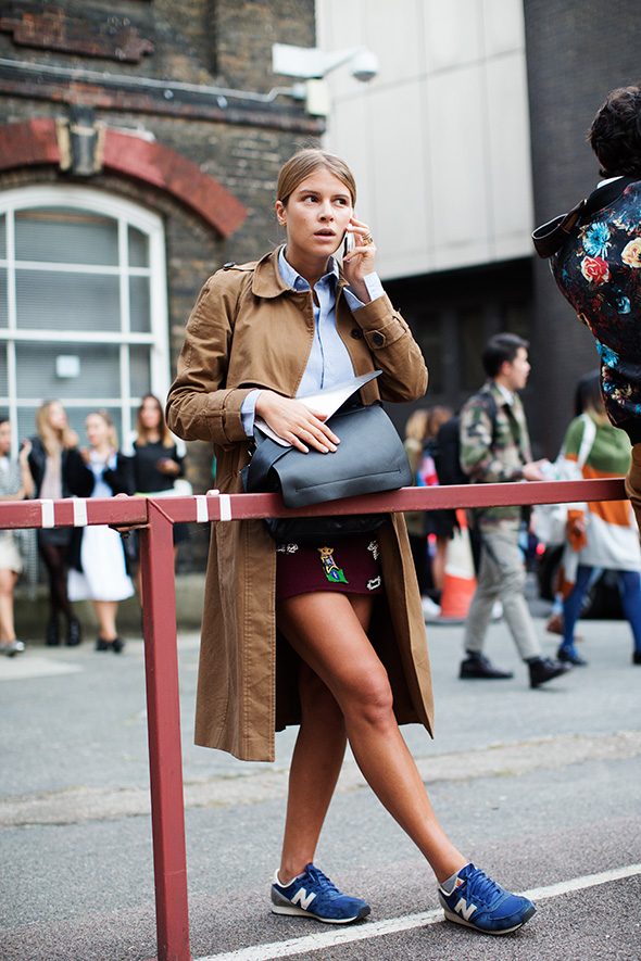 On the Street….After Christopher Kane, London