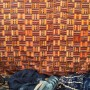 Beautiful African fabric at Chelsea $1outdoor flea market , New York