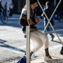 On he Street…..Broadway, New York www.TheSartorialist.com