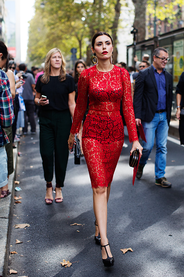 On the Street….After Dolce & Gabbana, Milan