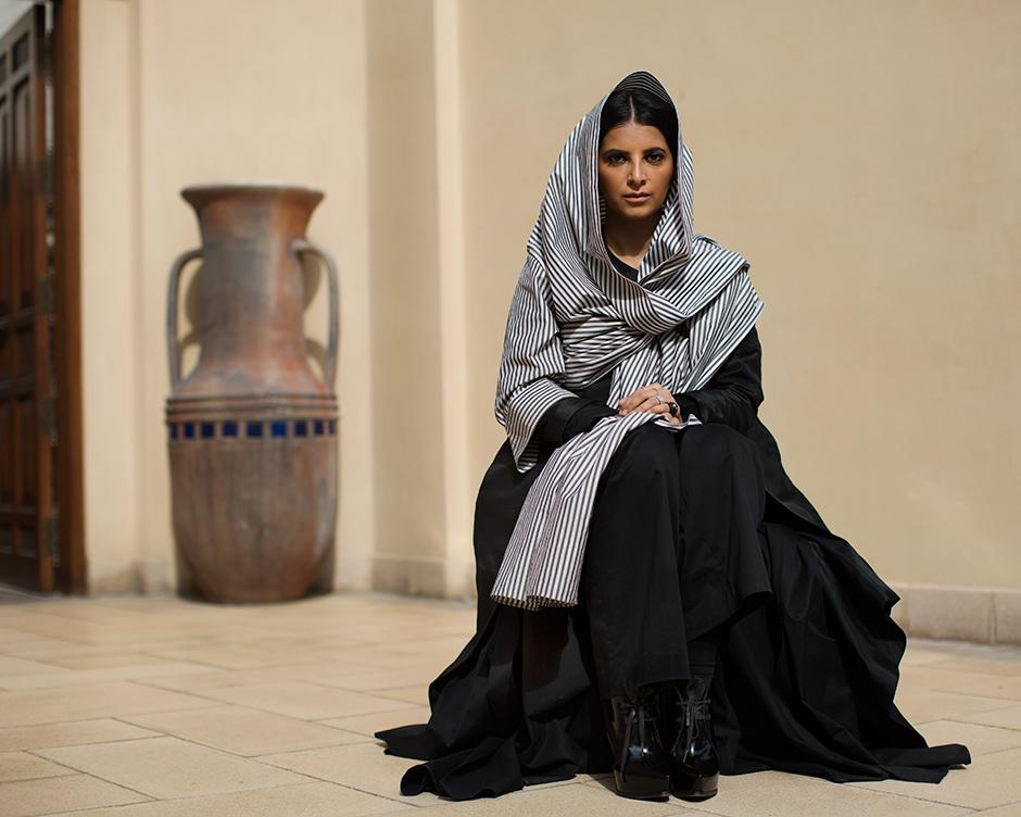 On The Street Reem Al Kanhal Dubai The Sartorialist