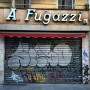 "I love the name of this store in Milan. Try yelling it out loud ""A……Fugazzi !!"""